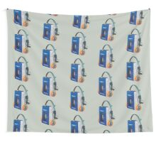 Sony Walkman TPS-L2 with MDR-5A Headphone Polygon Art Wall Tapestry
