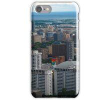 Toronto in Lake Ontario iPhone Case/Skin