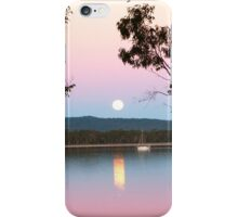 Framing the Super Moon! Tin Can Bay, Queensland. iPhone Case/Skin