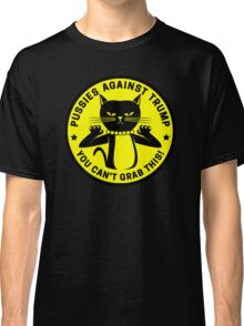 Pussies Against Trump yellow Classic T-Shirt