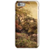 Autumn on Canvas iPhone Case/Skin