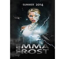Emma frost Movie poster Photographic Print