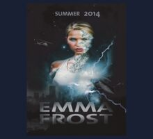 Emma frost Movie poster by Crap Illustration