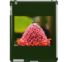 Gecko with flower iPad Case/Skin