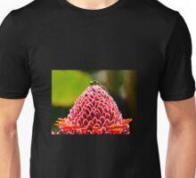 Gecko with flower Unisex T-Shirt