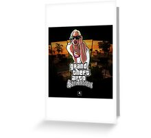 GTA San Andreas Grand Theft Auto Greeting Card