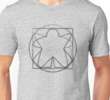 Vitruvian Meeple Unisex T-Shirt