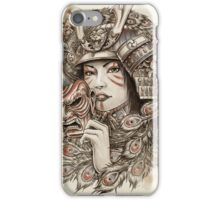 Peacock Samurai iPhone Case/Skin