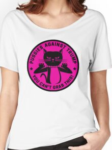 Pussies Against Trump Pink Women's Relaxed Fit T-Shirt