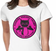 Pussies Against Trump Pink Womens Fitted T-Shirt