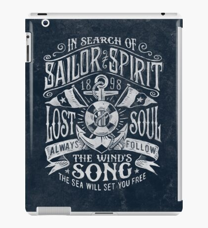 Sailor Spirit iPad Case/Skin