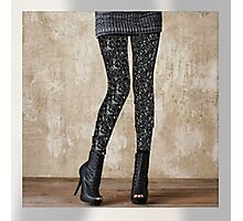 """FireFairy """"Dark Water"""" Leggings (attention! low resolution! high resolution in the link in the artist notes!!!) Photographic Print"""