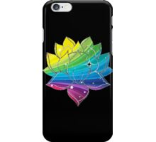 Rainbow Lotus  iPhone Case/Skin