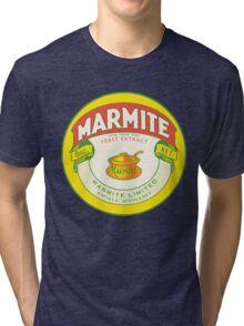 Marmite Retro Label Tri-blend T-Shirt