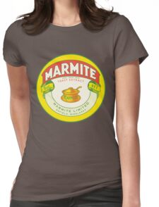 Marmite Retro Label Womens Fitted T-Shirt