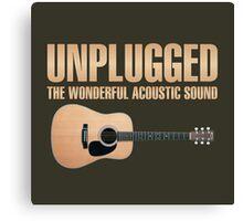 Cool Unplugged Canvas Print
