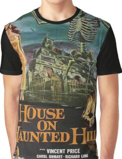 Vintage poster - House on Haunted Hill Graphic T-Shirt