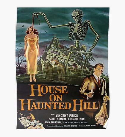 Vintage poster - House on Haunted Hill Poster