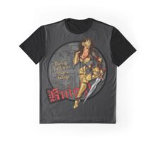 Knight - Pin-Up Warriors Graphic T-Shirt