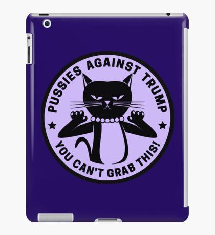 Pussies Against Trump Purple iPad Case/Skin