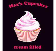 Max's Cupcakes-cream filled Photographic Print