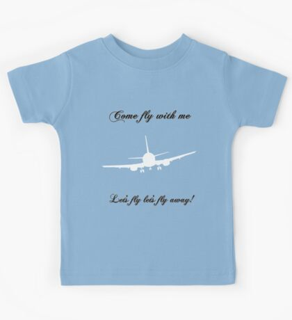 Let's Fly Kids Tee