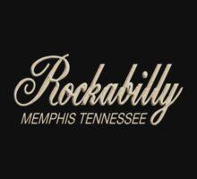 Vintage Rockabilly Memphis Tennessee One Piece - Short Sleeve