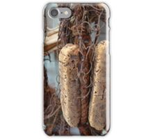 Old fishing nets and floats iPhone Case/Skin