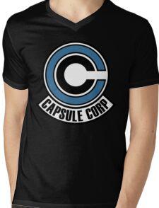 C. C. Logo Mens V-Neck T-Shirt