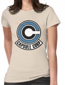 C. C. Logo Womens Fitted T-Shirt