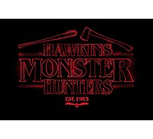 Hawkins Monster Hunters Photographic Print