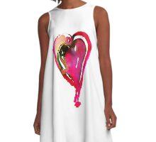 Corazón Rosa A-Line Dress