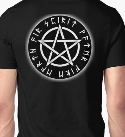 WICCA, Black, Pentacle, Pentagram, Witch, Wizard, Modern, Pagan, Witchcraft, Religion, Cult Unisex T-Shirt