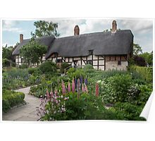 Ann Hathaway's Cottage , Stratford Upon Avon  UK 2 Poster