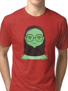 Emerald City Elphaba | Wicked Tri-blend T-Shirt