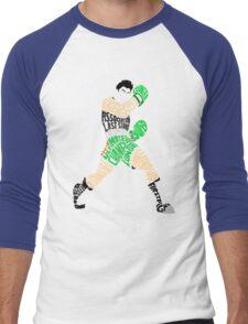 Little Mac Typography Men's Baseball ¾ T-Shirt