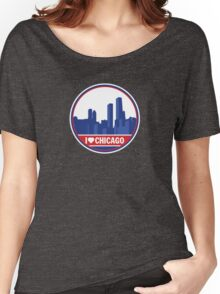I Love Chicago t-shirt Women's Relaxed Fit T-Shirt