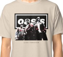 OASIS LIVE FOREVER [white] Classic T-Shirt