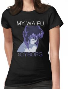 Motoko Kusanagi Waifu Anime Manga Shirt Womens Fitted T-Shirt