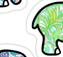 Elephant Tri Pack #2 Sticker