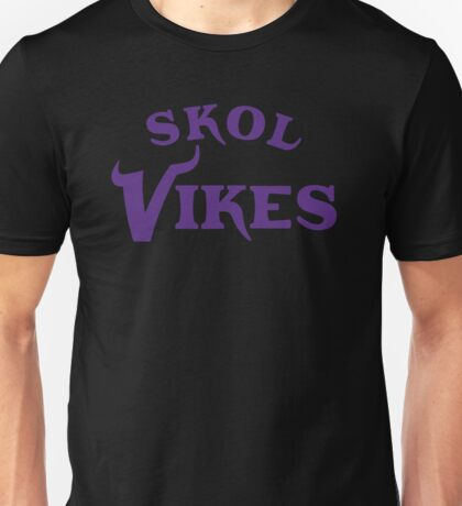 Skol Vikes Unisex T-Shirt
