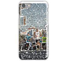 Spetses mini Marathon uphill runners iPhone Case/Skin