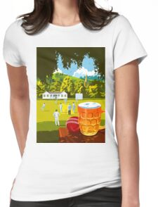 Village Cricket Womens Fitted T-Shirt