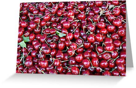 Cherries by Miriam Gordon