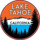 LAKE TAHOE CALIFORNIA REPUBLIC SKIING SKI LAKE BOAT BOATING BEAR SNOWBOARD by MyHandmadeSigns