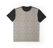Orange and blue abstract pattern in eastern style Graphic T-Shirt