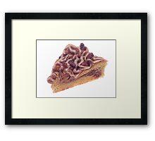 Danish Dessert Pastry Framed Print