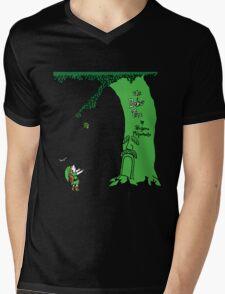 The Deku Tree Mens V-Neck T-Shirt
