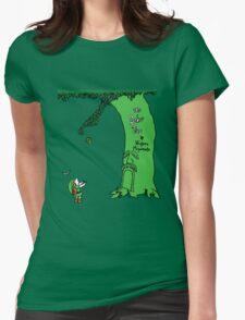 The Deku Tree Womens Fitted T-Shirt