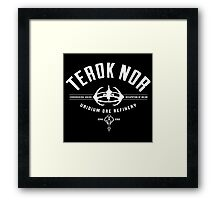 Terok Nor DS9 Framed Print